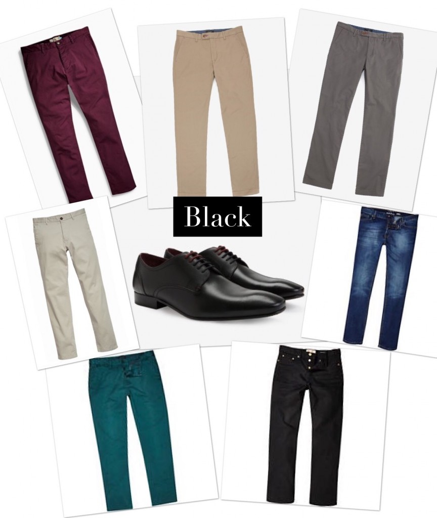 Gentlemens Life Styling Matching Shoes With Trousers